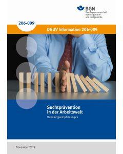 DGUV - Information 206-009 Suchtprävention in der Arbeitswelt
