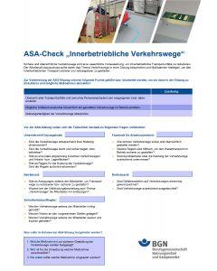 ASA-Check Verkehrswege