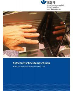 ASI 2.18 Aufschnittschneidemaschinen