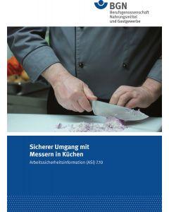 ASI 7.10 Sicherer Umgang mit Messern in Küchen