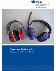 ASI 8.10 Einsatz von Gehörschutz