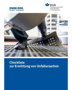 Checkliste zur Ermittlung von Unfallursachen