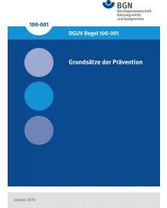 Grundsätze der Prävention (DGUV-Regel 100-001)