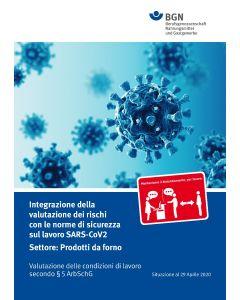 Gefährdungsbeurteilung Corona Backgewerbe italienisch (Broschüre)