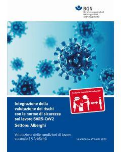 Gefährdungsbeurteilung Corona Gastgewerbe (Broschüre) italienische Ausgabe