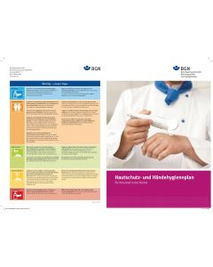 Hautschutz- und Hygieneplan für Personal in der Küche