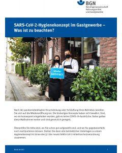 SARS-CoV-2-Hygienekonzept im Gastgewerbe - Was ist zu beachten (Corona)