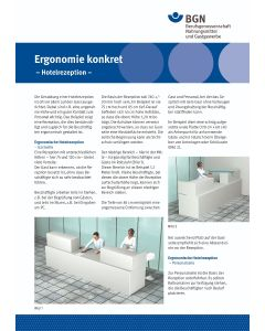 Ergonomie konkret - Hotelrezeption