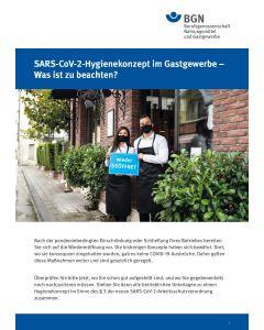 SARS-CoV-2-Hygienekonzept im Gastgewerbe - Was ist zu beachten