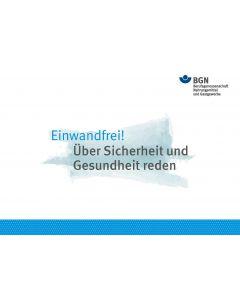 """Infokarten """"Einwandfrei: Über Sicherheit und Gesundheit reden"""""""